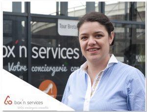 [Nouvelle lauréate] Marion TESSON – création BOX'N SERVICES