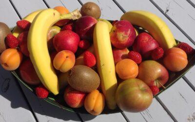 Livraison de fruits au bureau !